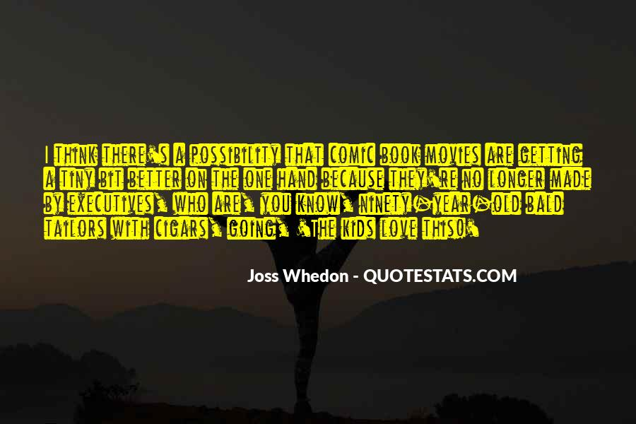 Whedon Love Quotes #30769