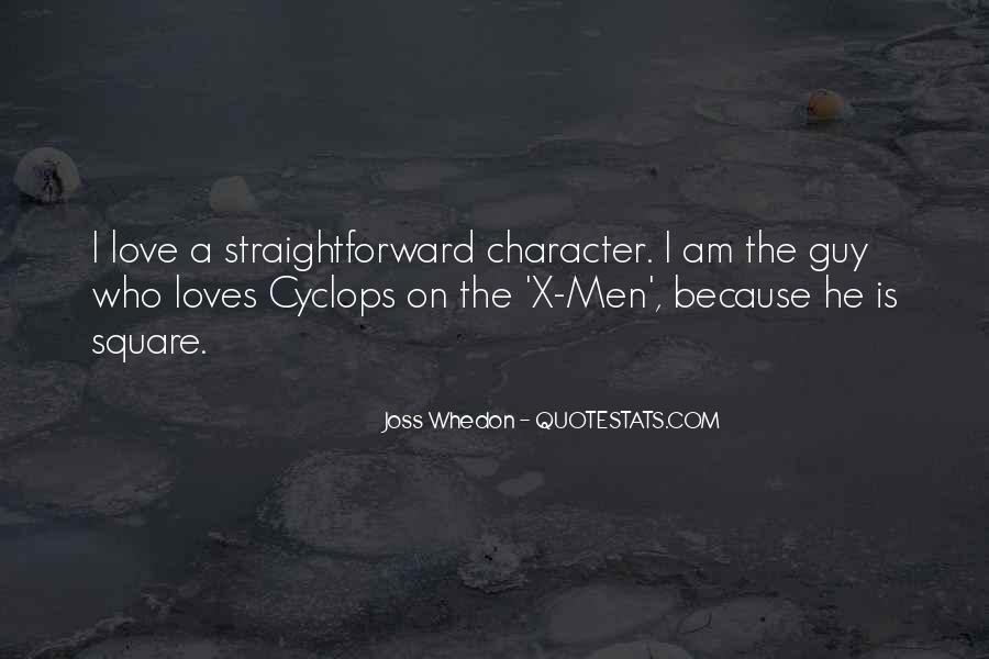 Whedon Love Quotes #752408