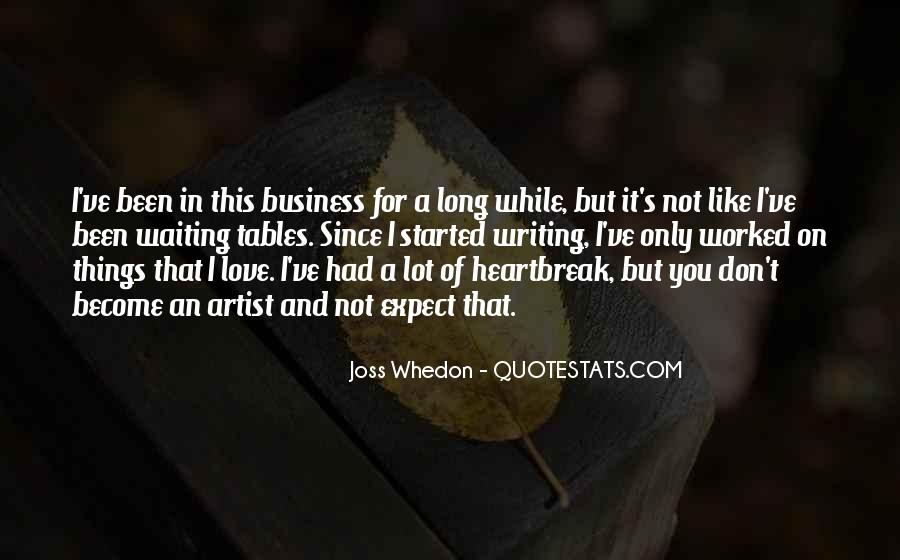 Whedon Love Quotes #823474