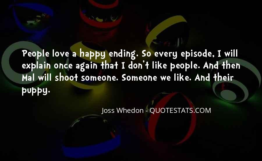 Whedon Love Quotes #908750