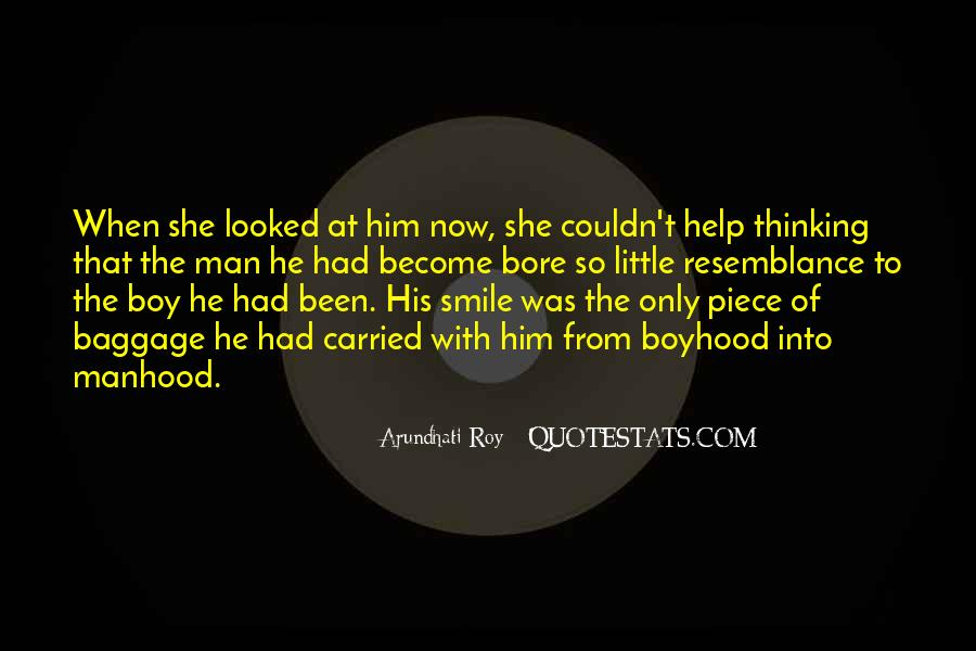 When Does A Boy Become A Man Quotes #215075