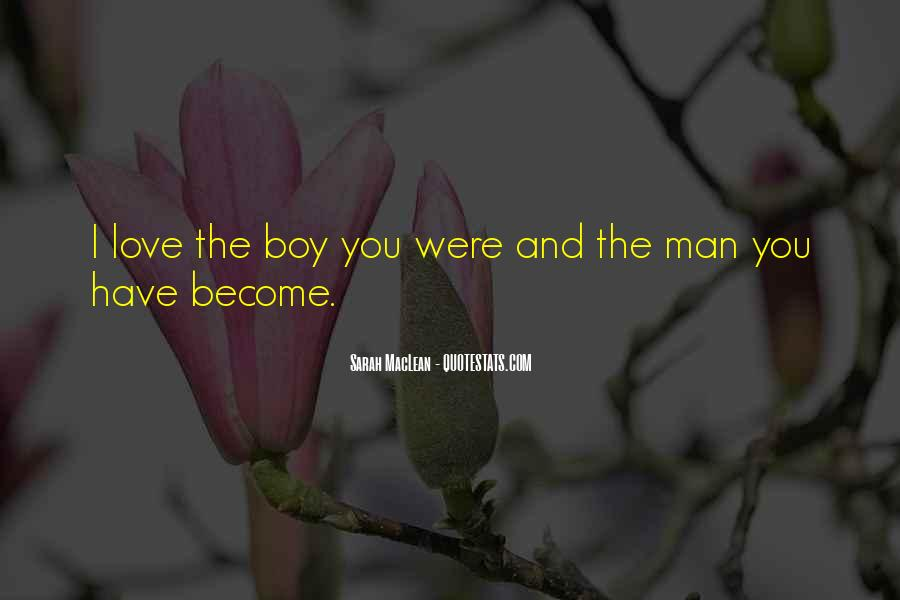 When Does A Boy Become A Man Quotes #518729