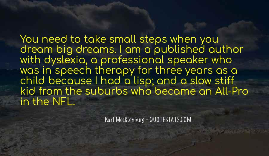 When I Was Small Kid Quotes #305037