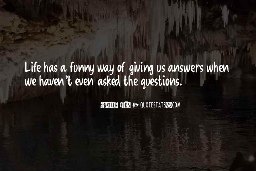When Life Funny Quotes #585956