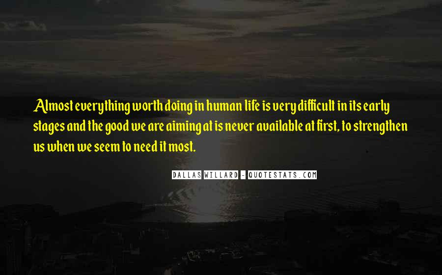 When Life Is Difficult Quotes #202099