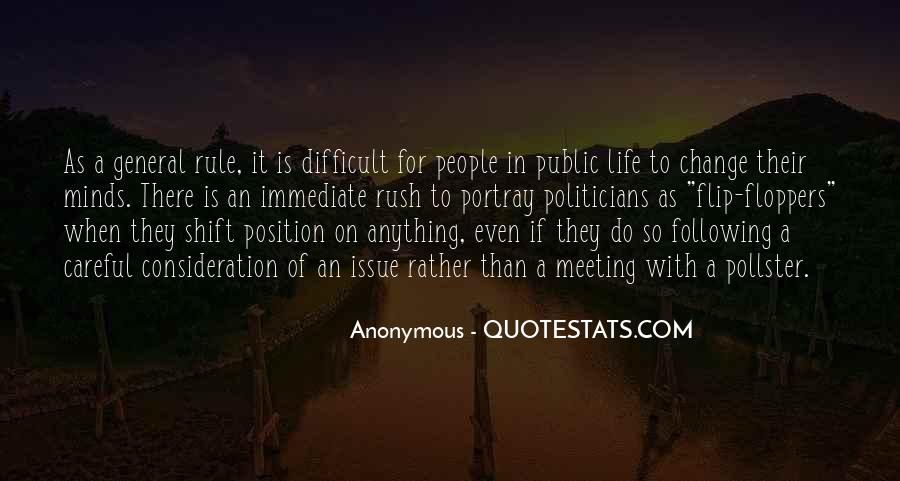 When Life Is Difficult Quotes #306044