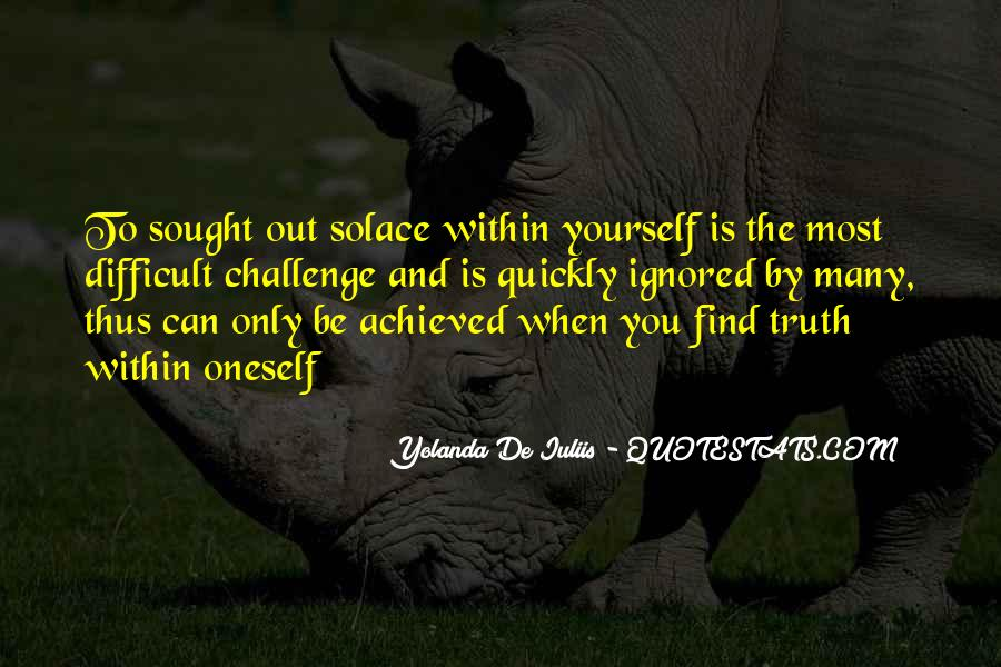 When Life Is Difficult Quotes #71805