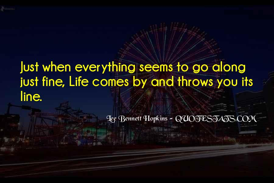 When Life Throws Something At You Quotes #178110