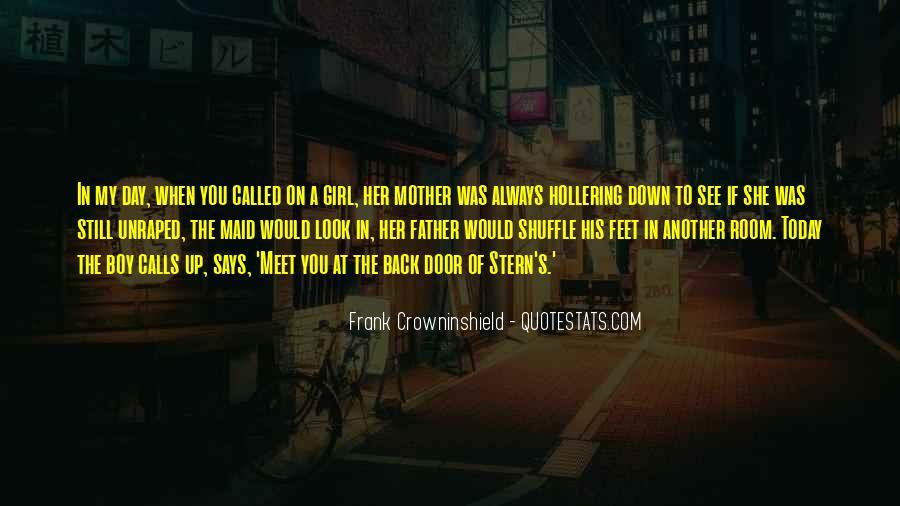 When Past Calls Quotes #10743