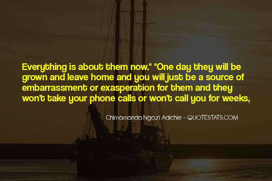 When Past Calls Quotes #15601