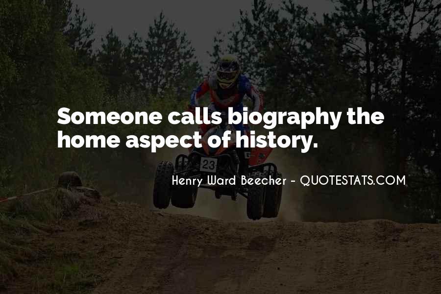 When Past Calls Quotes #3466