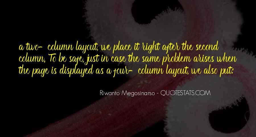 When Problem Arises Quotes #1390608