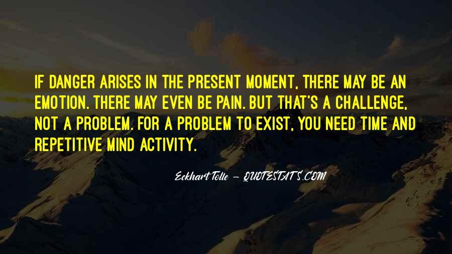 When Problem Arises Quotes #264312