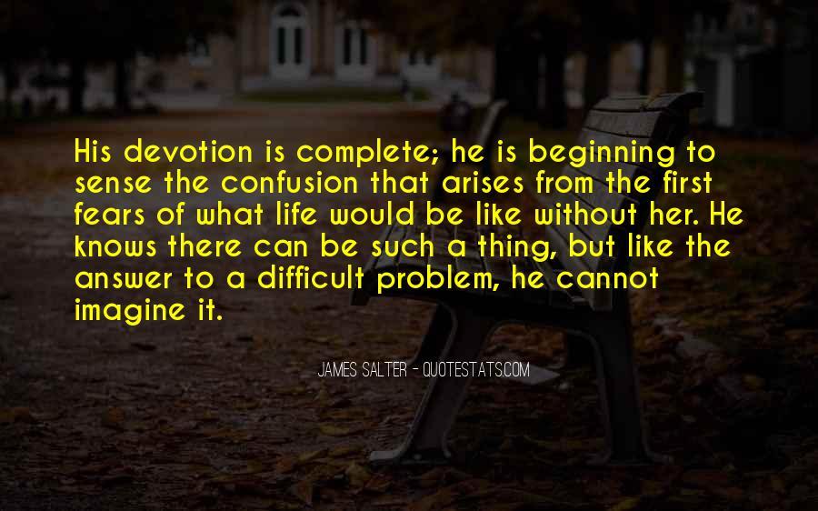 When Problem Arises Quotes #745658