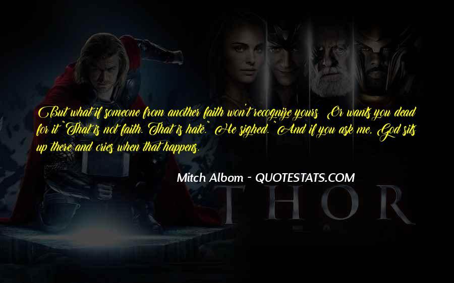 When Someone Dead Quotes #1325545