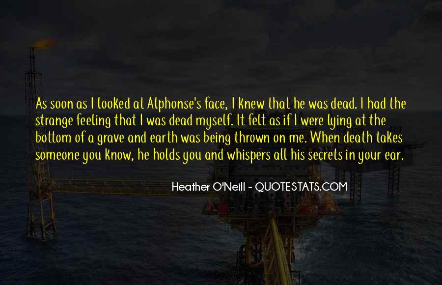 When Someone Dead Quotes #135579