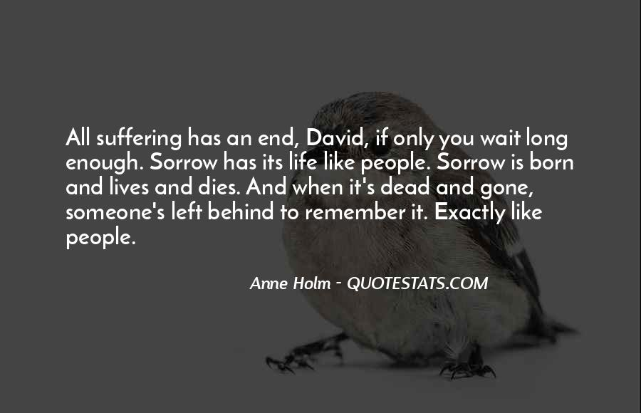 When Someone Dead Quotes #371834
