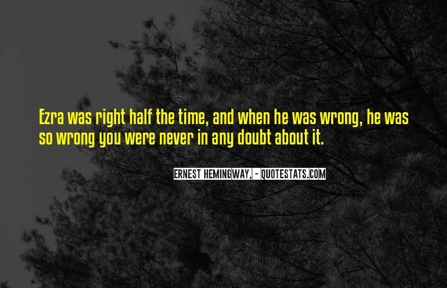 When Time Goes Wrong Quotes #34393