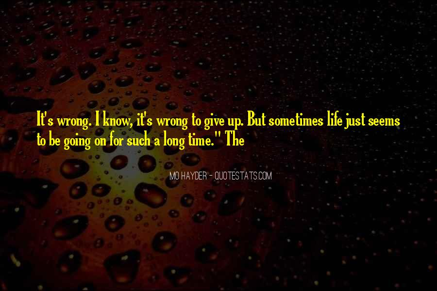 When Time Goes Wrong Quotes #52487