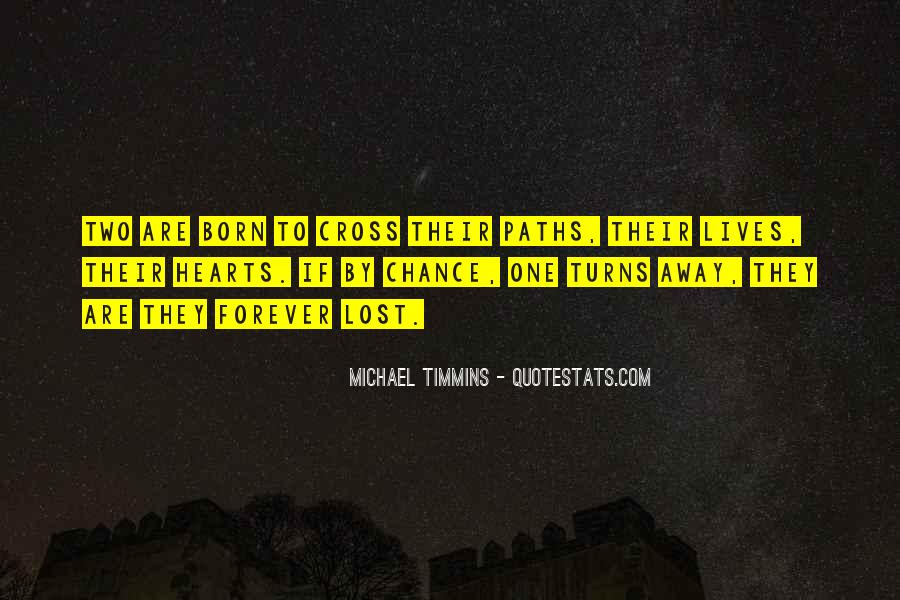 When Two Paths Cross Quotes #565176