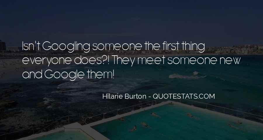 When We First Meet Quotes #112806
