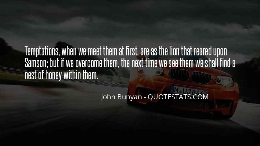 When We First Meet Quotes #1432958