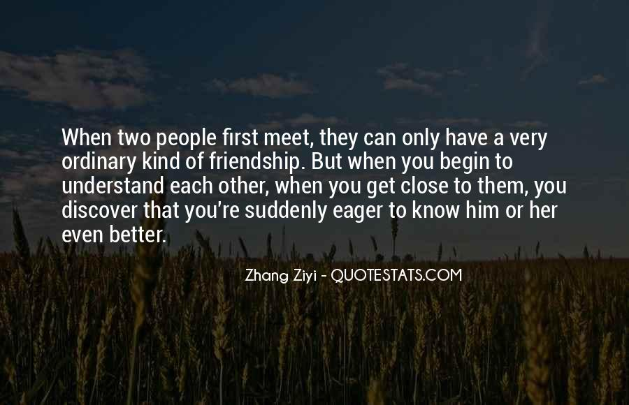 When We First Meet Quotes #173238