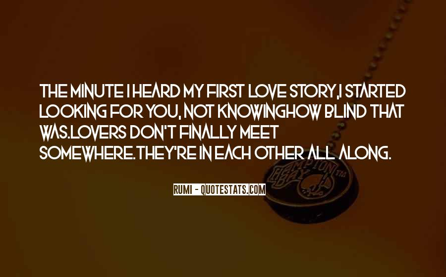 When We First Meet Quotes #198266