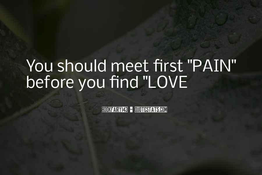 When We First Meet Quotes #37158