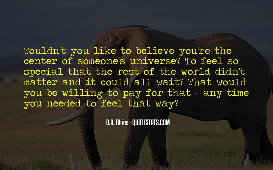 When You Feel All Alone In This World Quotes #12905