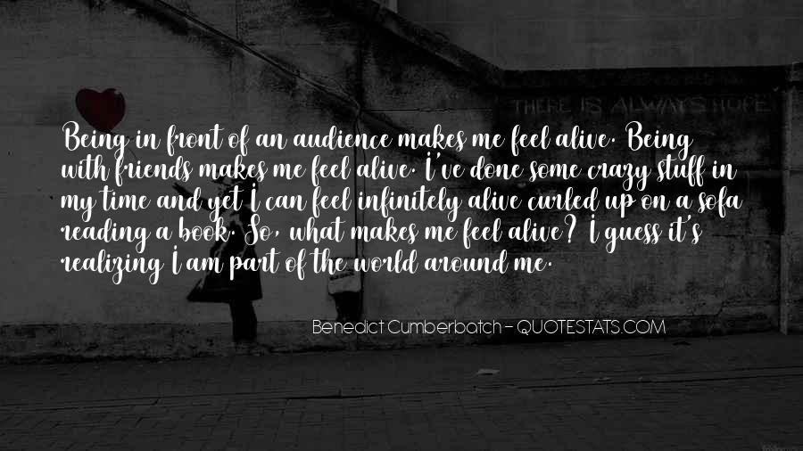 When You Feel All Alone In This World Quotes #17778