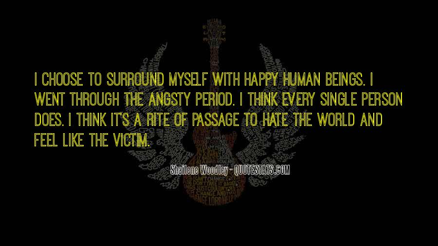 When You Feel All Alone In This World Quotes #32689