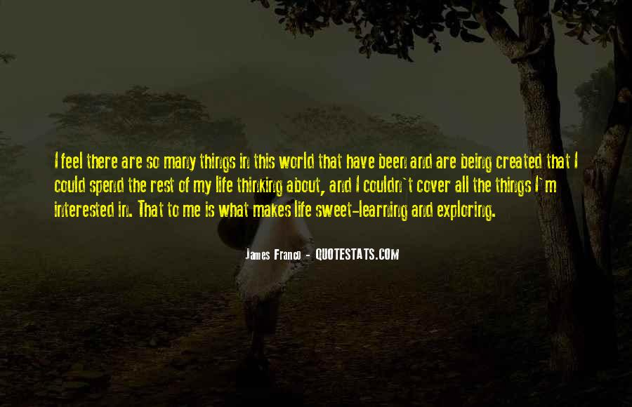 When You Feel All Alone In This World Quotes #59745