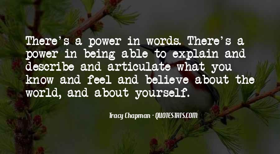 When You Feel All Alone In This World Quotes #7402