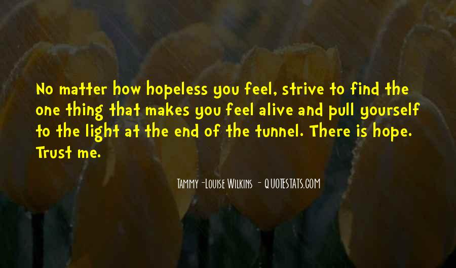 When You Feel Hopeless Quotes #162614