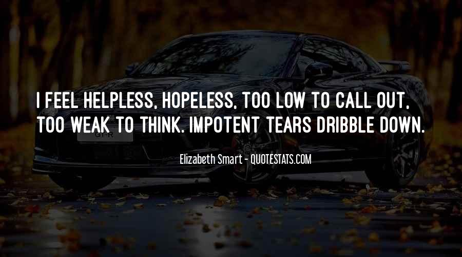 When You Feel Hopeless Quotes #176625