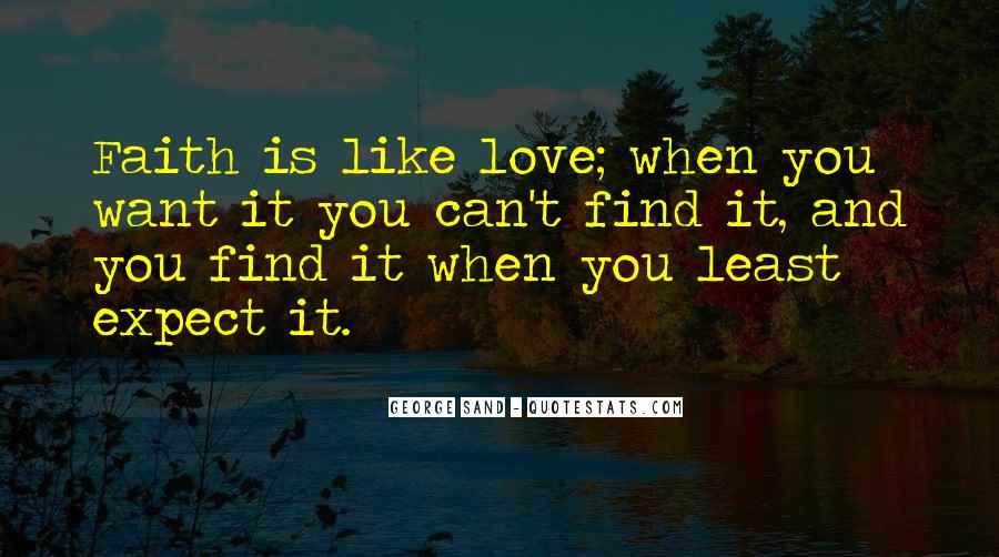 Top 39 When You Least Expect It Love Quotes: Famous Quotes ...