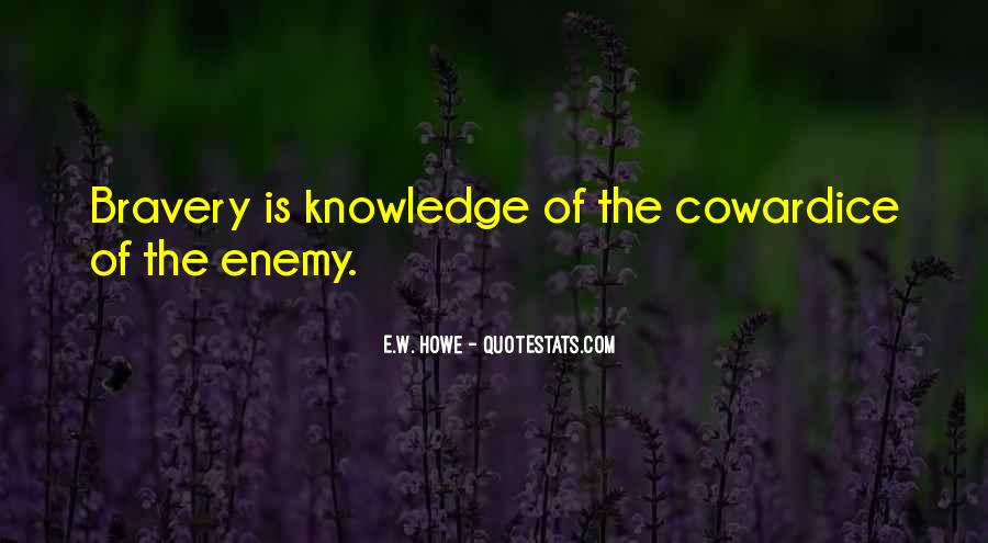 Quotes About Bravery And Cowardice #1587622