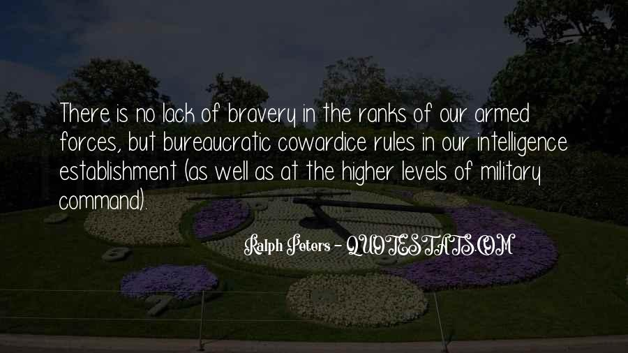 Quotes About Bravery And Cowardice #203497