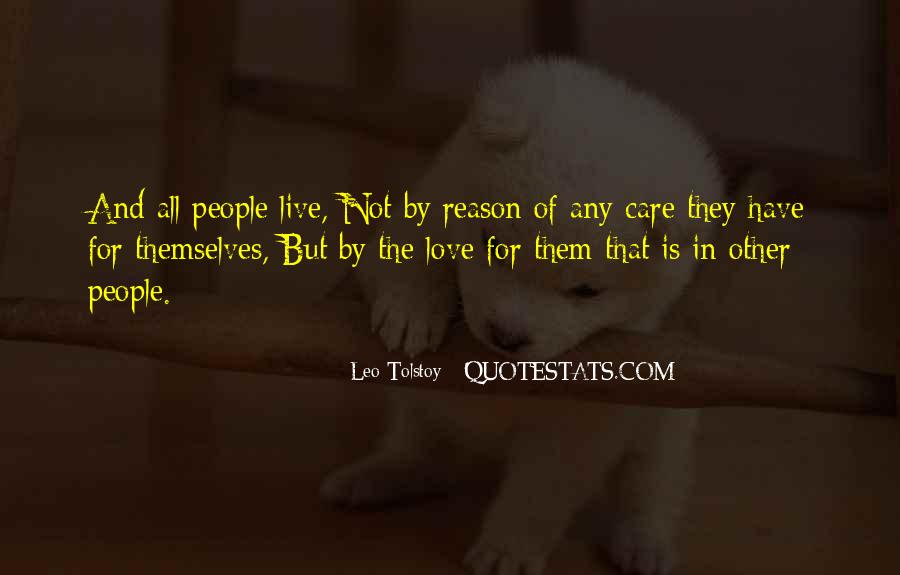 Quotes About Love Tolstoy #150098