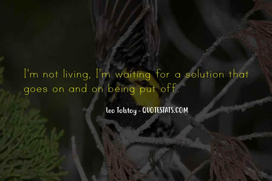 Quotes About Love Tolstoy #178560