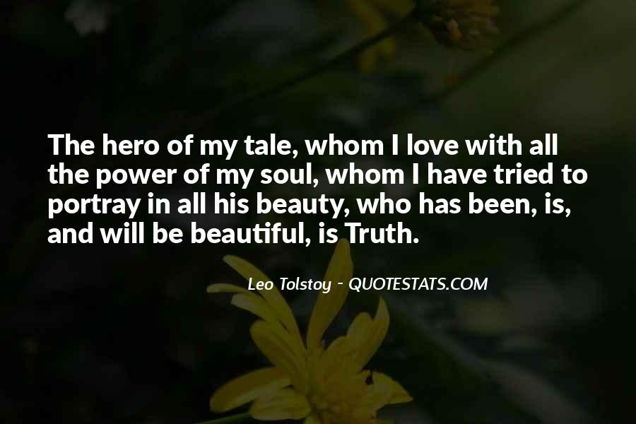 Quotes About Love Tolstoy #237501