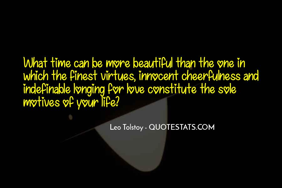 Quotes About Love Tolstoy #271398