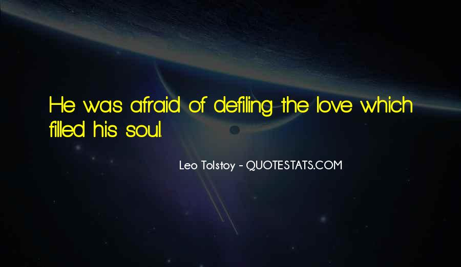 Quotes About Love Tolstoy #273960