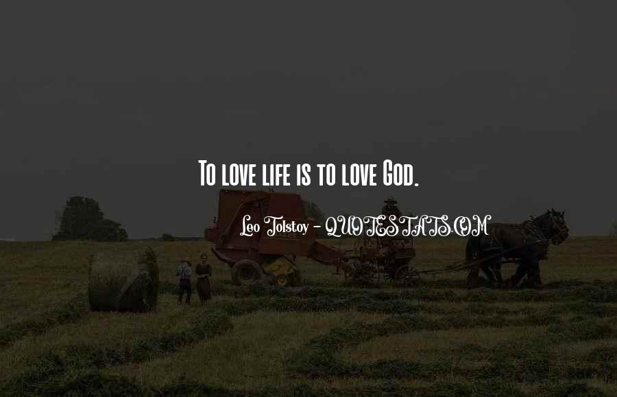 Quotes About Love Tolstoy #294053