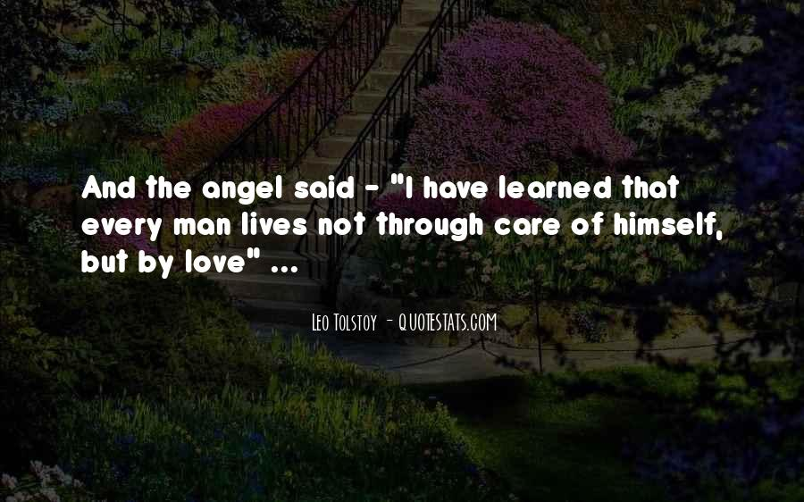 Quotes About Love Tolstoy #339147