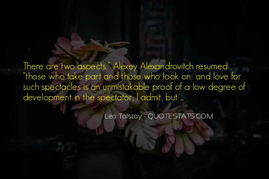 Quotes About Love Tolstoy #41662