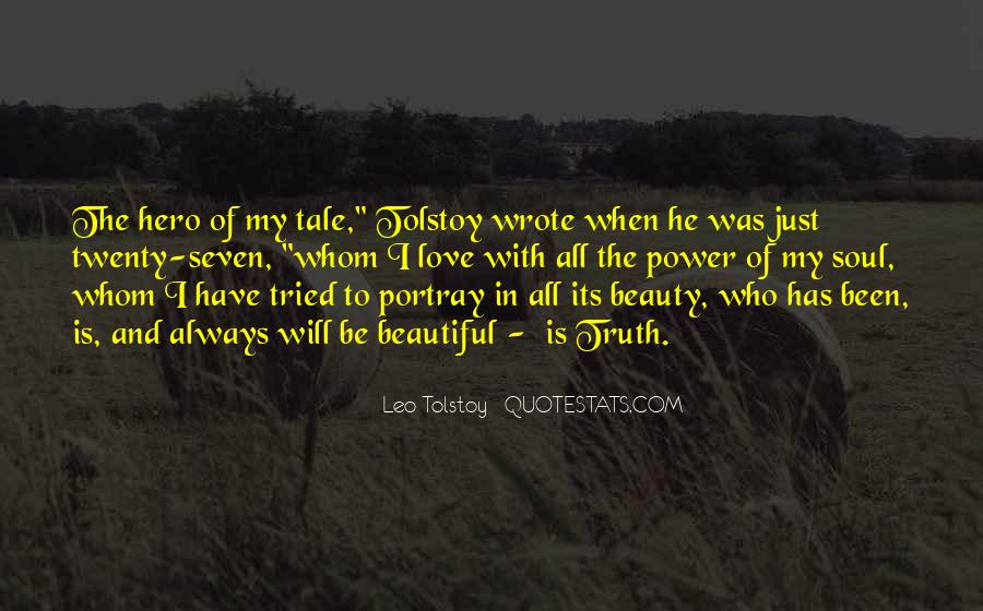 Quotes About Love Tolstoy #483270