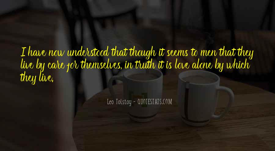 Quotes About Love Tolstoy #784598