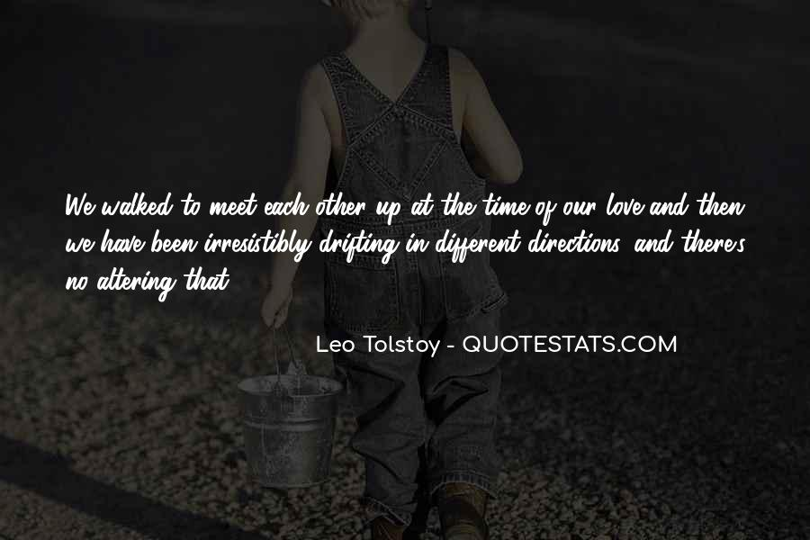 Quotes About Love Tolstoy #901937